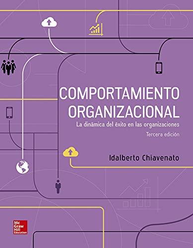 COMPORTAMIENTO ORGANIZACIONAL: IDALBERTO, CHIAVENATO