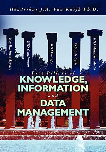 Five Pillars of Knowledge, Information and Data: Van Kuijk Ph.D.,