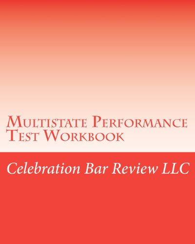 9781456308827: Multistate Performance Test Workbook