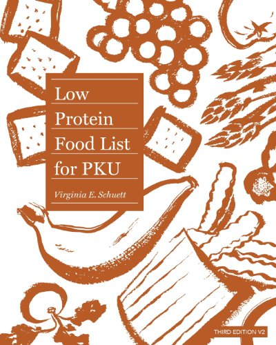 9781456318420: Low Protein Food List for PKU