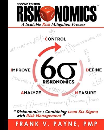9781456325015: Riskonomics: A Scalable Risk Mitigation Process