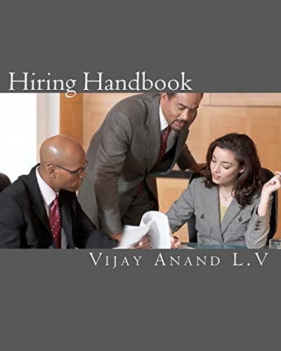 9781456330996: Hiring Handbook: Easy way of understand Hiring.