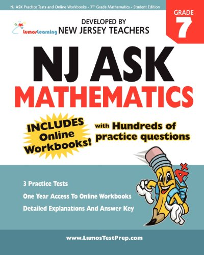 NJ ASK Practice Tests and Online Workbooks - 7th Grade Mathematics - Student Edition: Developed by ...