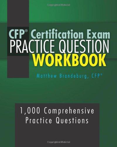 9781456385439: CFP Certification Exam Practice Question Workbook: 1,000 Comprehensive Practice Questions