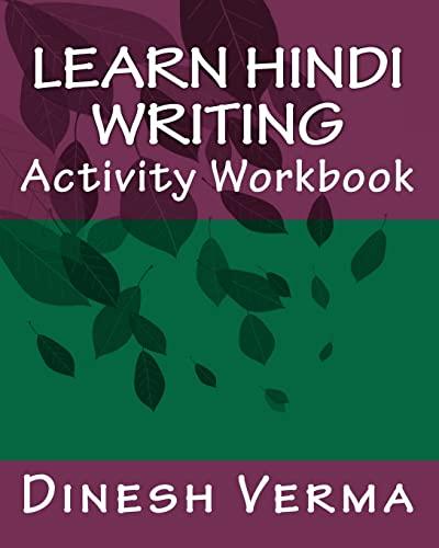 9781456403935: Learn Hindi Writing Activity Workbook