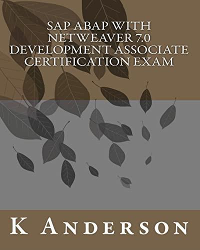 9781456421298: SAP ABAP with NetWeaver 7.0 Development Associate Certification Exam