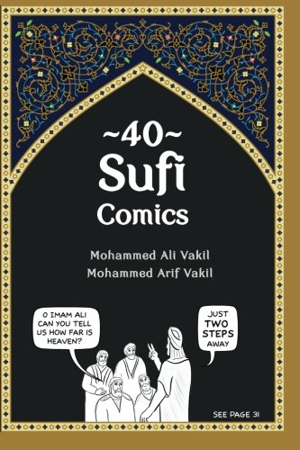 9781456461270: 40 Sufi Comics