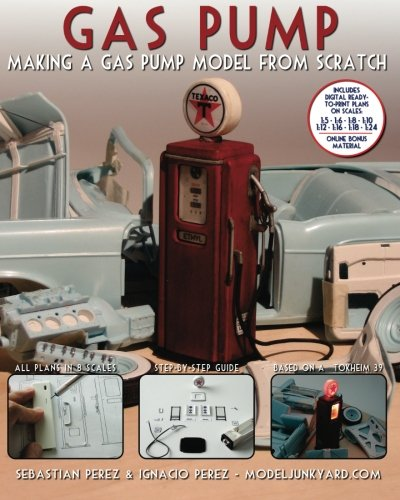9781456462086: Gas Pump: Making a gas pump model from scratch