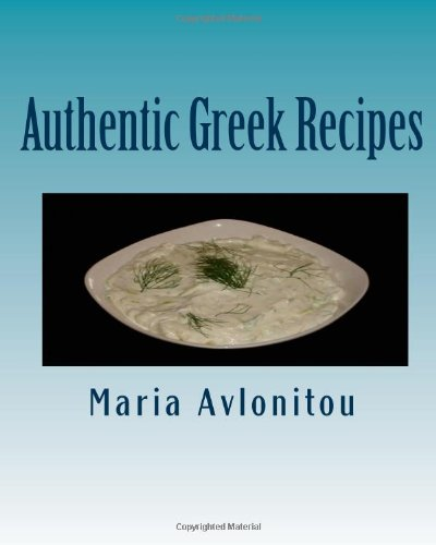 9781456463793: Authentic Greek Recipes