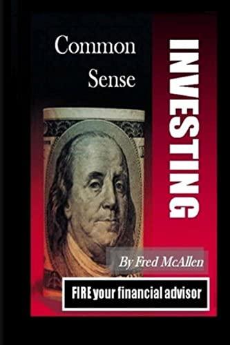 9781456469559: Common Sense Investing