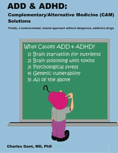 9781456506001: ADD & ADHD: Complementary/Alternative Medicine (CAM) Solutions