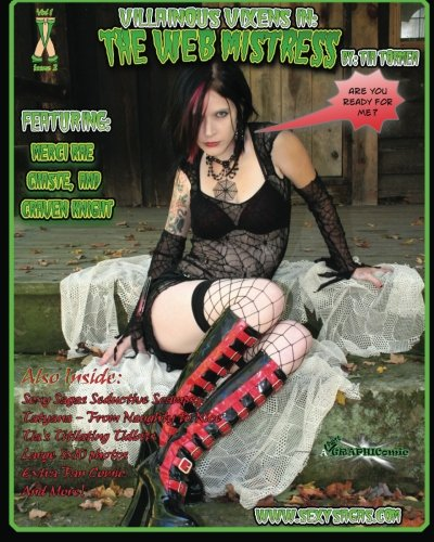 9781456519346: Villainous Vixens in: The Web Mistress
