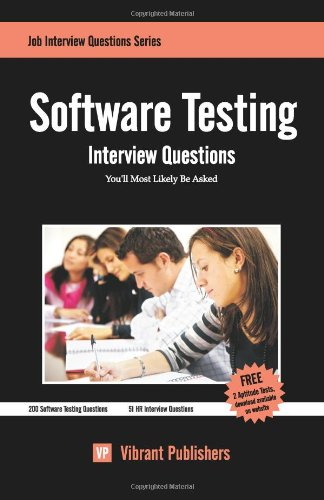 9781456579302: Software Testing Interview Questions You'll Most Likely Be Asked (Job Interview Questions)