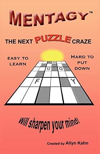 9781456586928: Mentagy: The Next Puzzle Craze