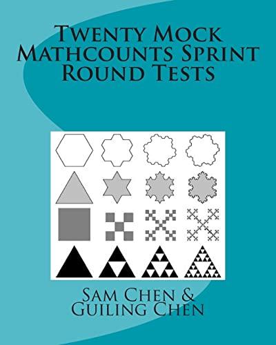 9781456589141: Twenty Mock Mathcounts Sprint Round Tests