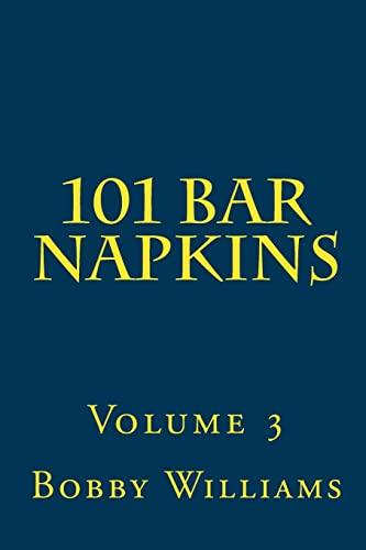9781456596873: 101 Bar Napkins: Volume 3