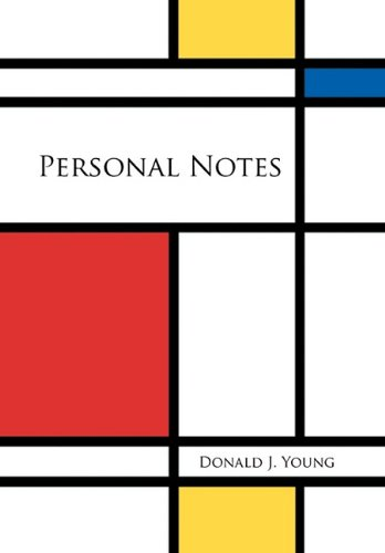 Personal Notes (1456886126) by Donald J. Young