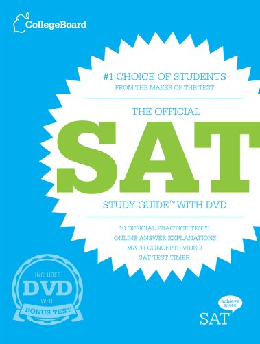 9781457300349: The Official SAT Study Guide, 3rd Edition with DVD