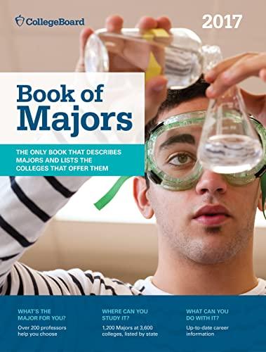 9781457307744: Book of Majors 2017 (College Board Book of Majors)