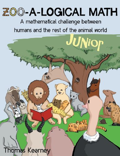 Zoo-A-Logical Math Junior: A Mathematical Challenge Between Humans and the Rest of the Animal World...