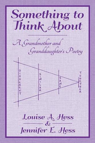 9781457534614: Something to Think About: A Grandmother and Granddaughter's Poetry
