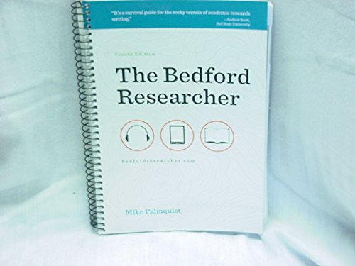 9781457600999: The Bedford Researcher