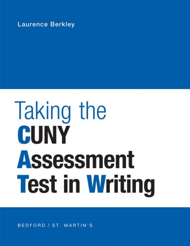 9781457602283: Taking the CUNY Assessment Test in Writing