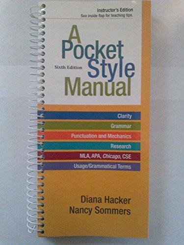 9781457602399: Pocket Style Manual