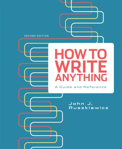 9781457602436: How to Write Anything: A Guide and Reference