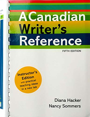 9781457602450: A Canadian Writer's Reference