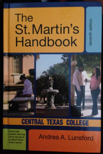 9781457604812: The St. Martin's Handbook: Central Texas College