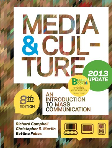 9781457605260: Media & Culture, Update: An Introduction to Mass Communication