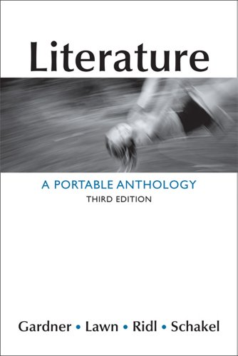 9781457606502: Literature: A Portable Anthology