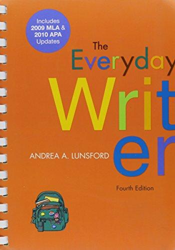 9781457607011: Everyday Writer 4e with 2009 MLA and 2010 APA Updates & 50 Essays 3e