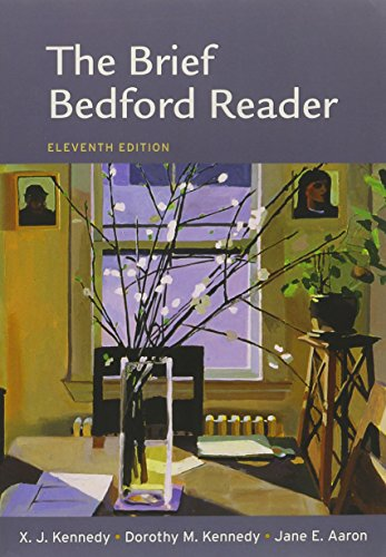 Writer's Reference 7e & CompClass & Brief Bedford Reader 11e (145760776X) by Hacker, Diana; Sommers, Nancy; Kennedy, X. J.; Kennedy, Dorothy M.; Aaron, Jane E.
