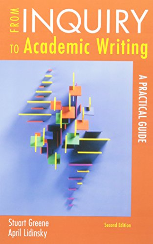 9781457607967: From Inquiry to Academic Writing 2e & Re:Writing Plus