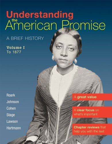Understanding the American Promise, Volume 1: To: Hartmann, Susan M.,