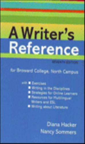 9781457608933: WRITER'S REFERENCE >CUSTOM<