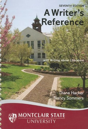 9781457608971: A Writer's Reference for Montclair State University