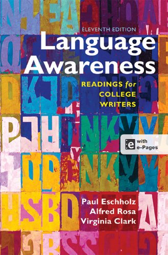 9781457610783: Language Awareness: Readings for College Writers