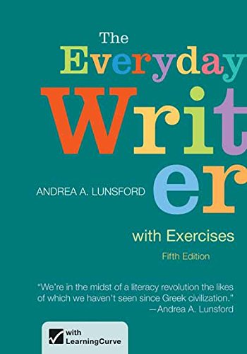 9781457612671: The Everyday Writer with Exercises