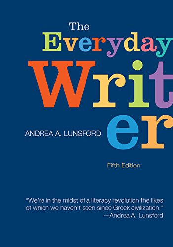 9781457612695: The Everyday Writer