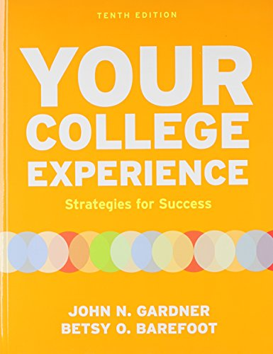 9781457614415: Your College Experience 10e & Bedford/St. Martin's Planner