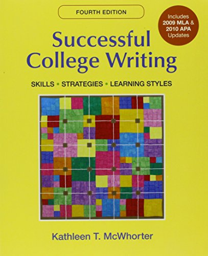 9781457614835: Successful College Writing With 2009 Mla and 2010 Apa Updates + Research Pack