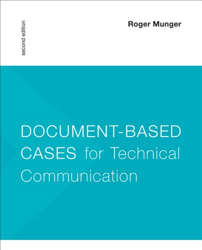 9781457615023: Document-Based Cases for Technical Communication
