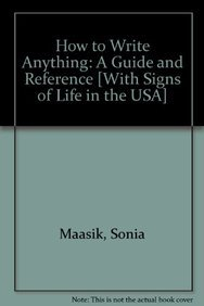 9781457615993: Signs of Life in the USA 6e & How to Write Anything with 2009 MLA and 2010 APA Updates