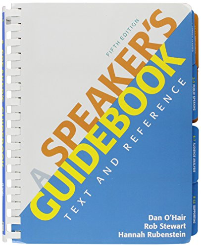 9781457617355: Speaker's Guidebook 5e & Speech Central Plus