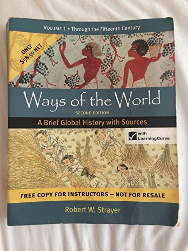 9781457622021 Ways Of The World Second Edition A Brief Global