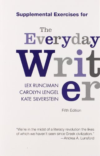 9781457622519: Supplemental Exercises for The Everyday Writer