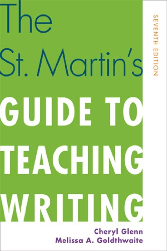 9781457622632: The St. Martin's Guide to Teaching Writing